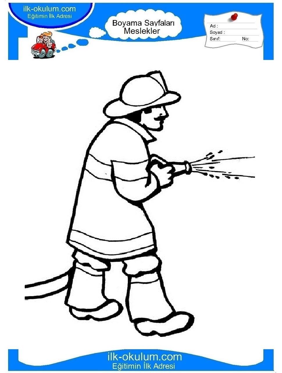 Раскраски на тему пожарной безопасности своими руками