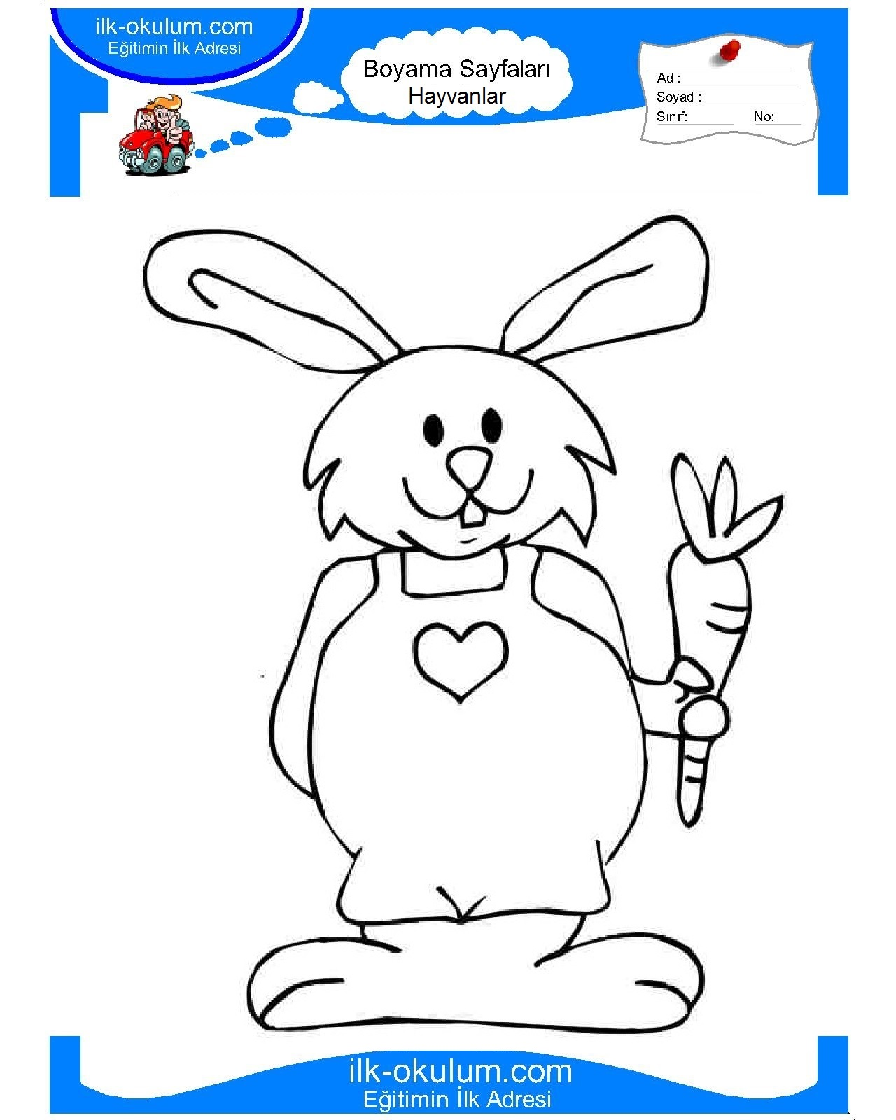 Easter Bunny coloring pages Free Printable Pictures Bunnies pictures to color
